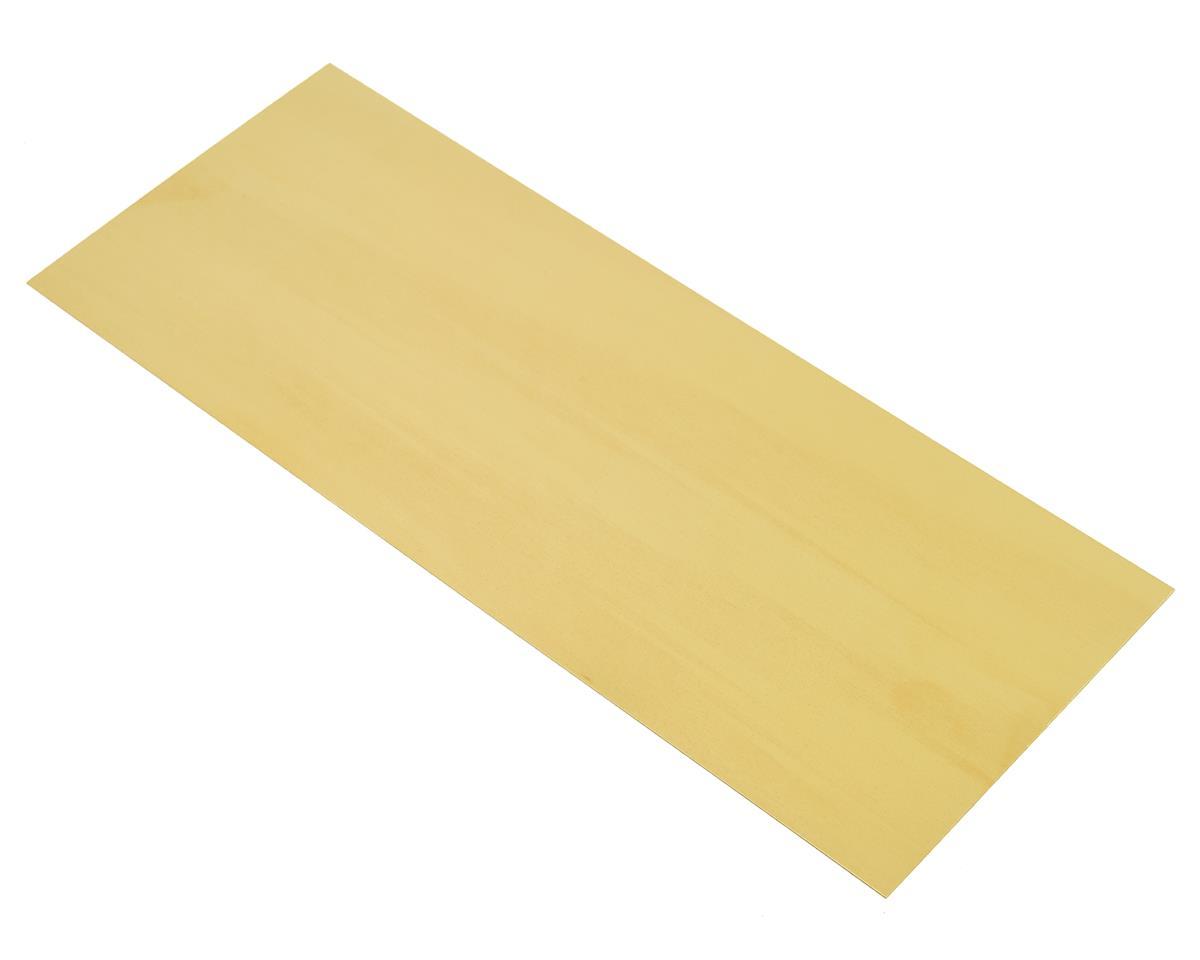 "K&S Engineering 4x10x.005"" Brass Sheet"