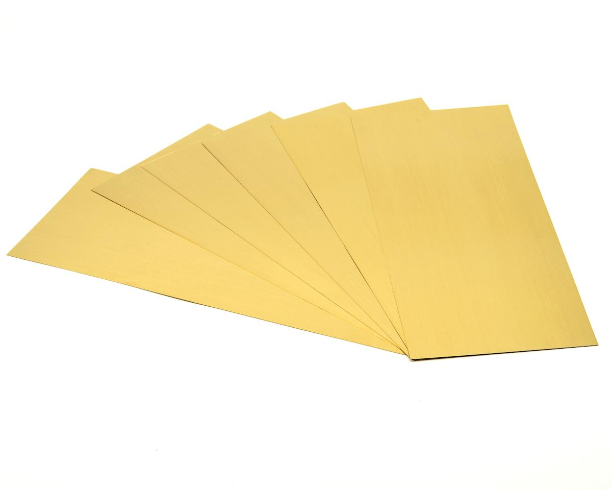 K&S Engineering Brass Sheet 4x10,.005 (6)