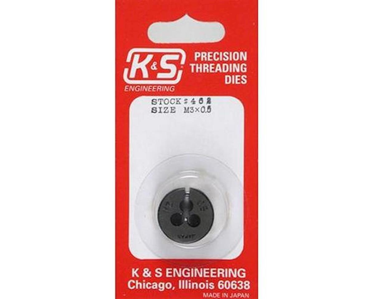 K&S Engineering Metric Die,3mm