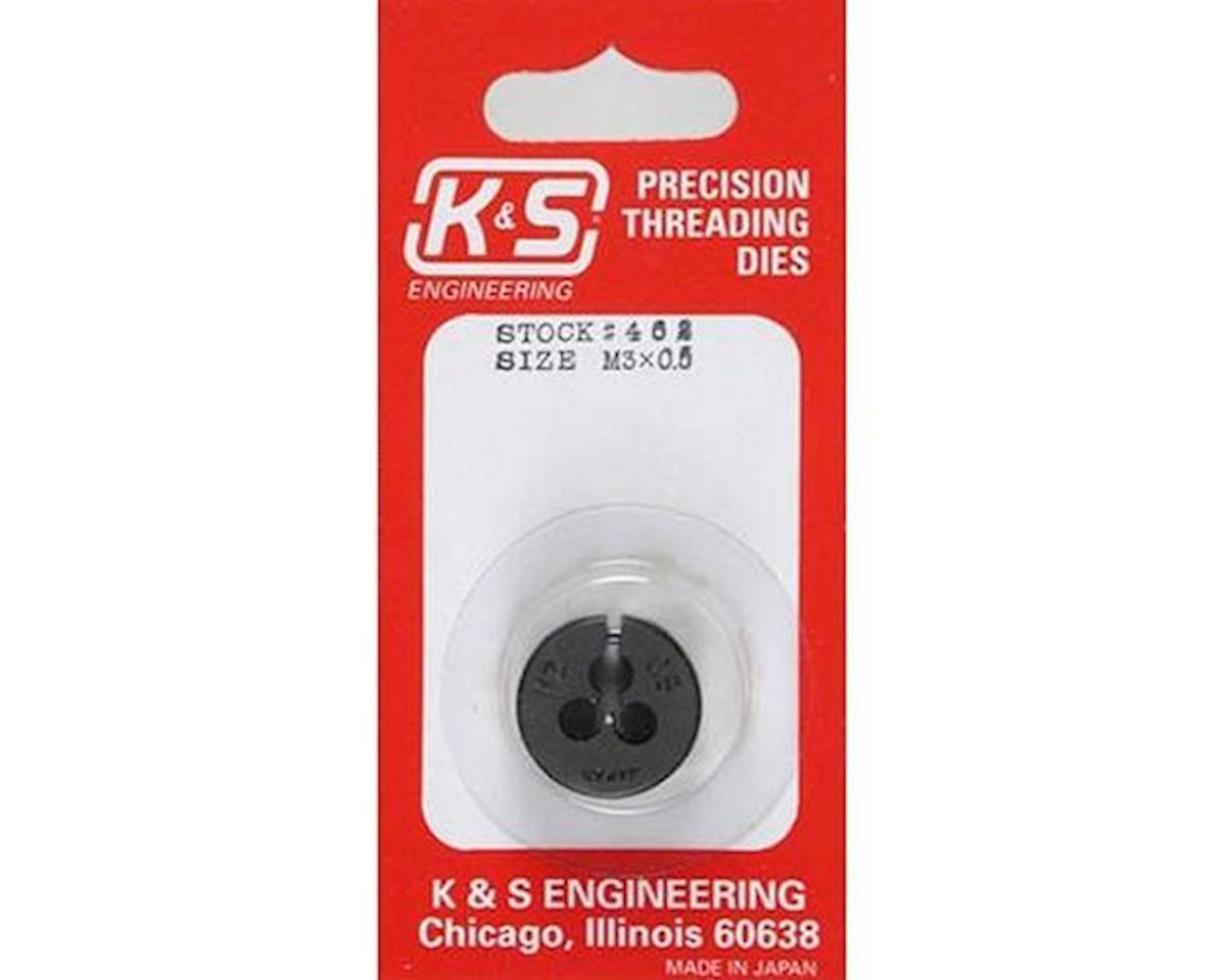 K&S Engineering Metric Die,3mm
