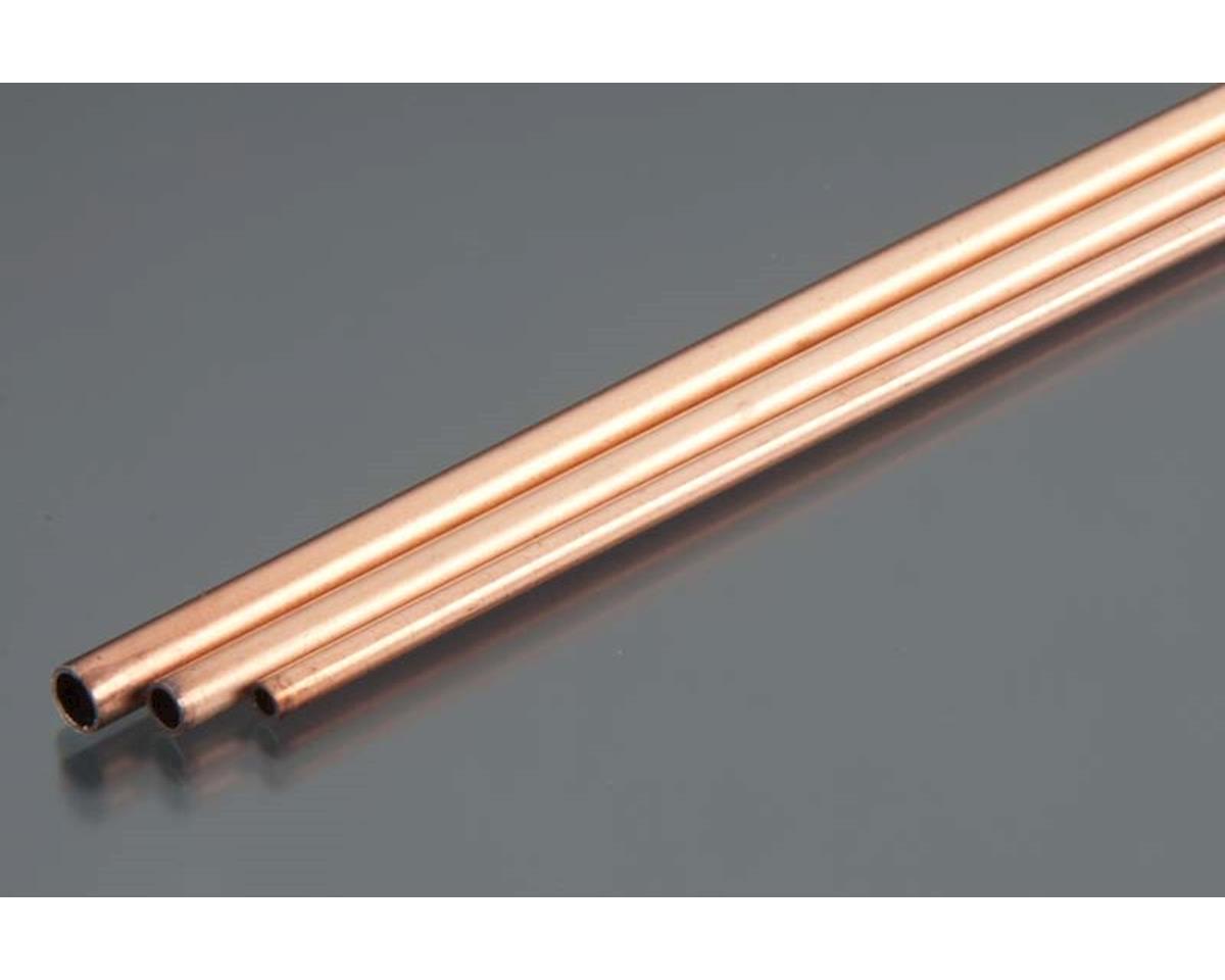 K&S Engineering Copper Tube, 3/32, 5/32, 1/8 Bend (3)