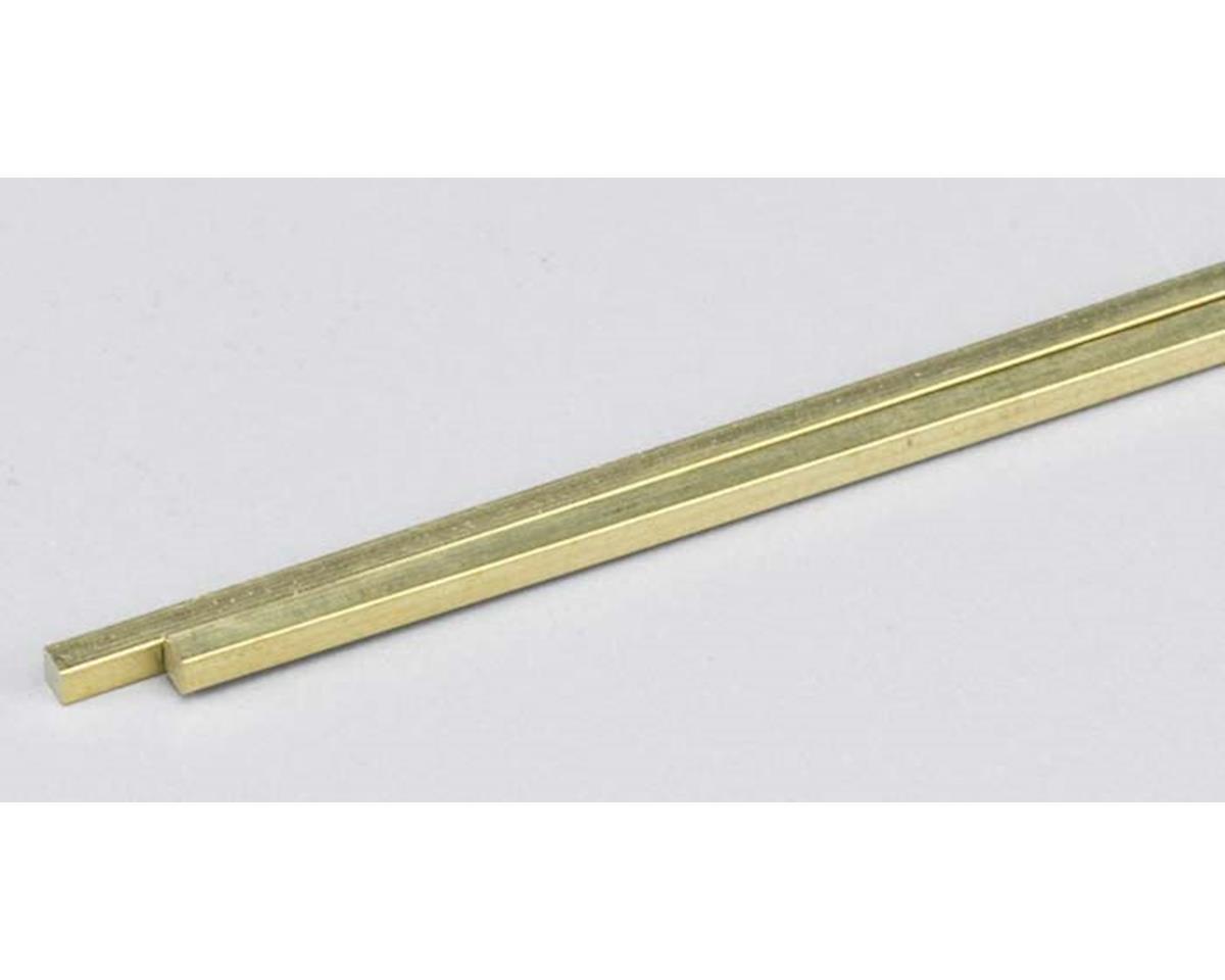 K&S Engineering 5084 Brass Bar 1/8 Bar (2)