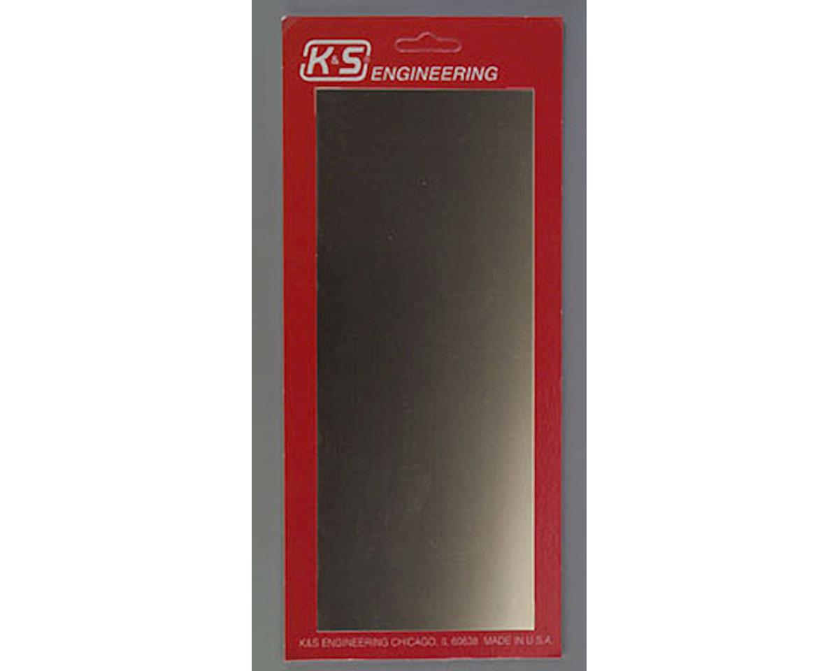 "K&S Engineering 5253 Brass Sheet 4x10x.032"" Peggable (1)"