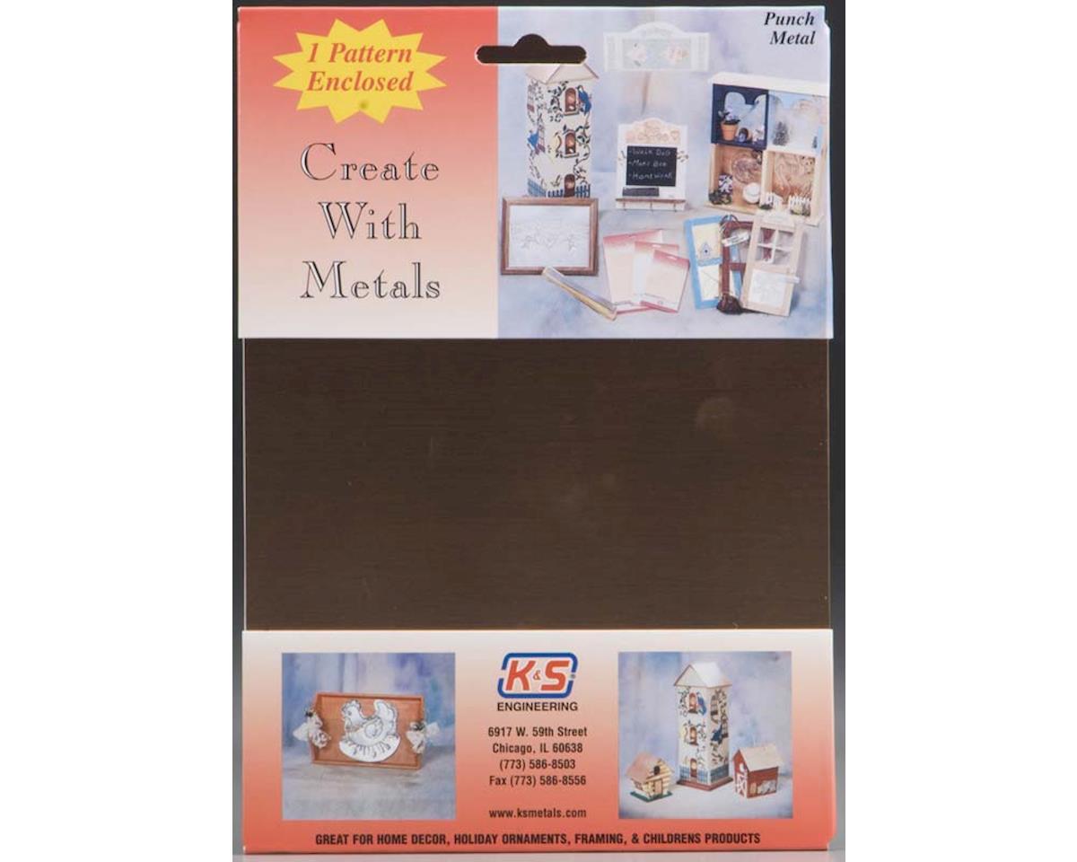 """K&S Engineering 6530 Copper Sheet .013 6x8"""" (1)"""