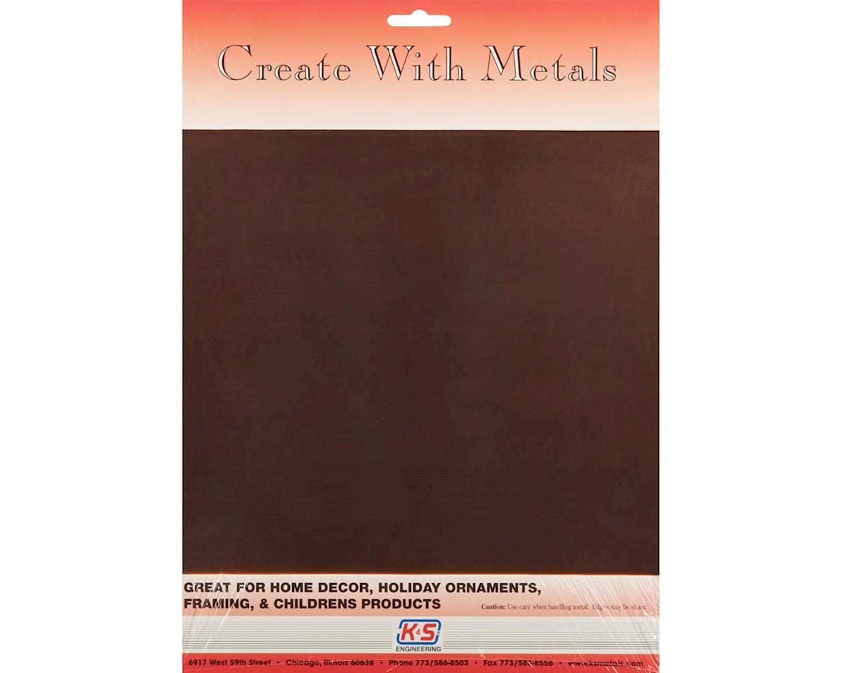 "6535 Copper Sheet .013 9x12"" (1) by K&S Engineering"