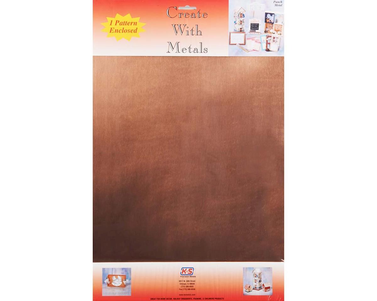 """K&S Engineering 6540 Copper Sheet .013 12x18"""" (1)"""