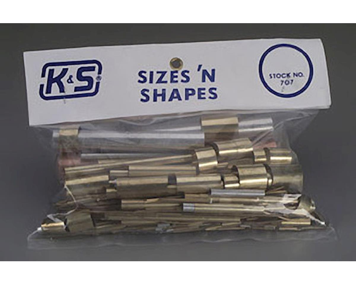 Sizes & Shapes, Assortment by K&S Engineering