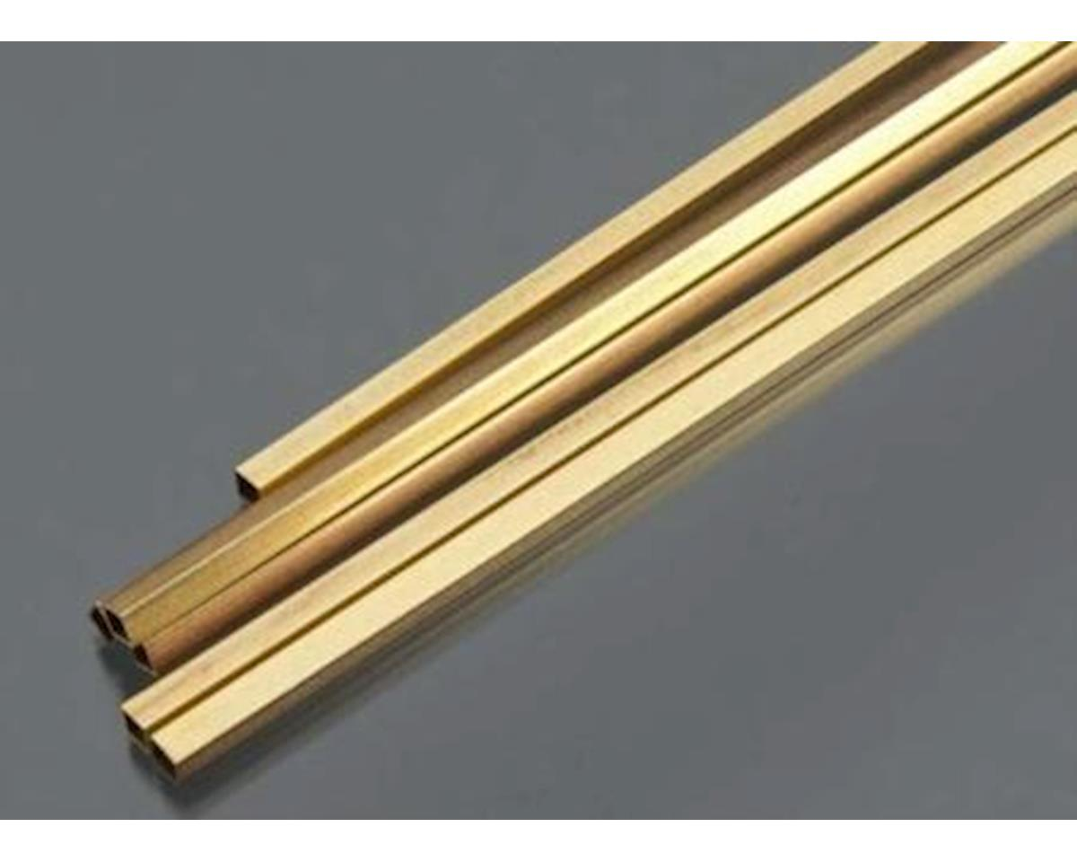 """K&S Engineering Square Brass Tube 3/16"""", Carded"""