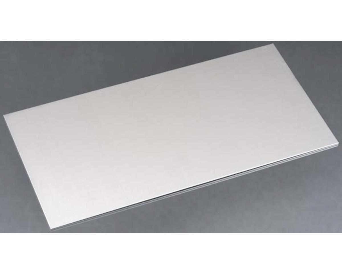 """K&S Engineering Aluminum Sheets .064 X 6 X 12"""", Carded"""
