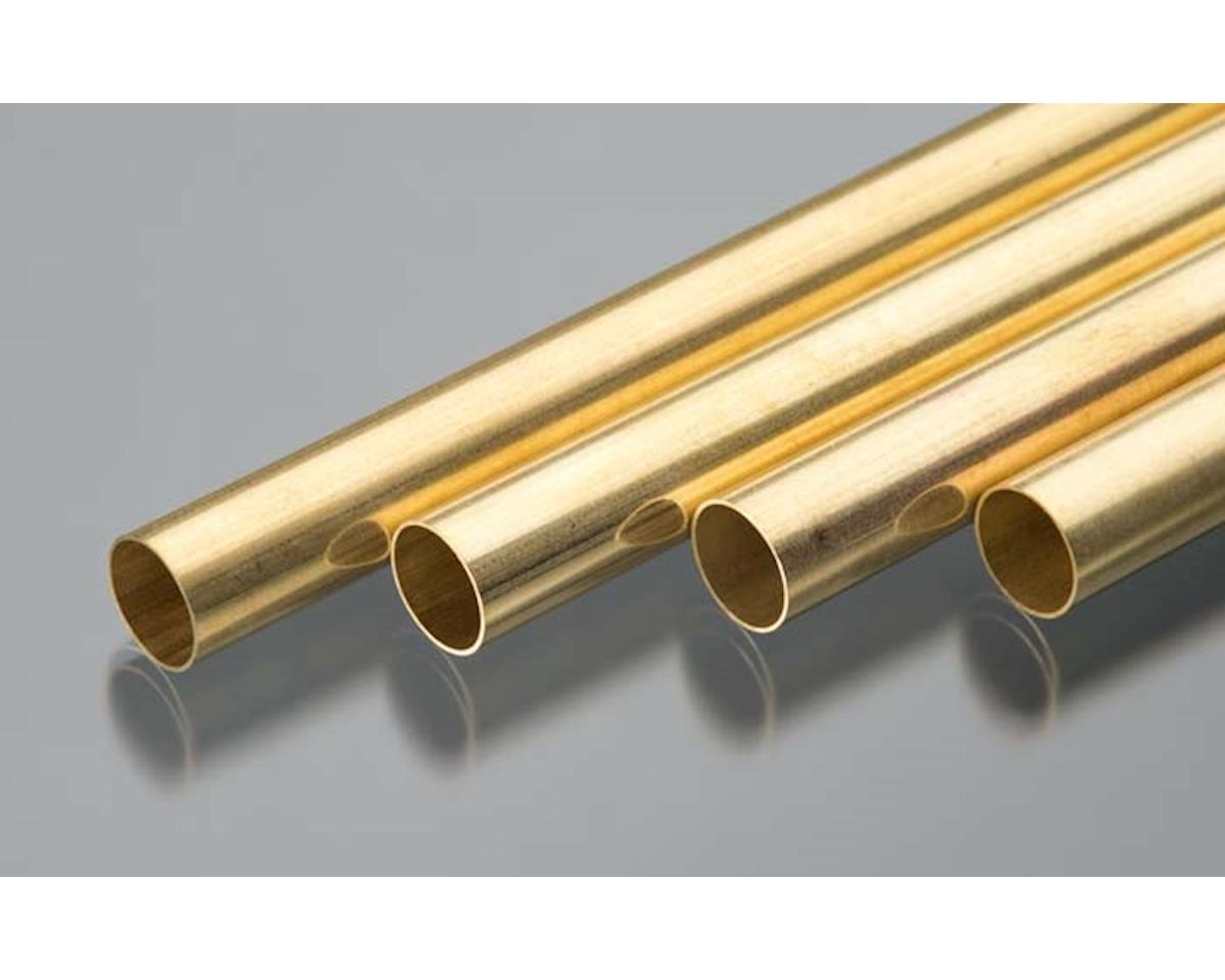 "K&S Engineering 9113 Rd. Brass Tube .014x15/32x36"" (4)"