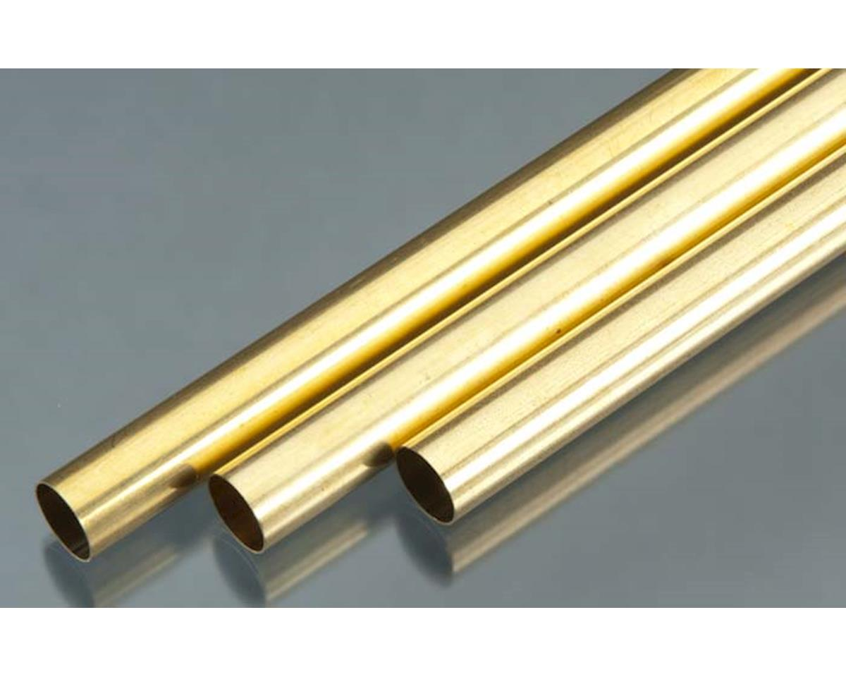 "K&S Engineering 9117 Rd. Brass Tube .014x17/32x36"" (3)"