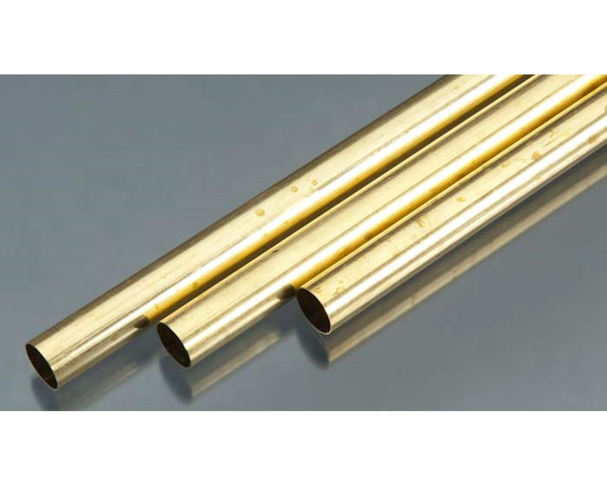 "9119 Rd. Brass Tube .014x9/16x36"" (3) by K&S Engineering"
