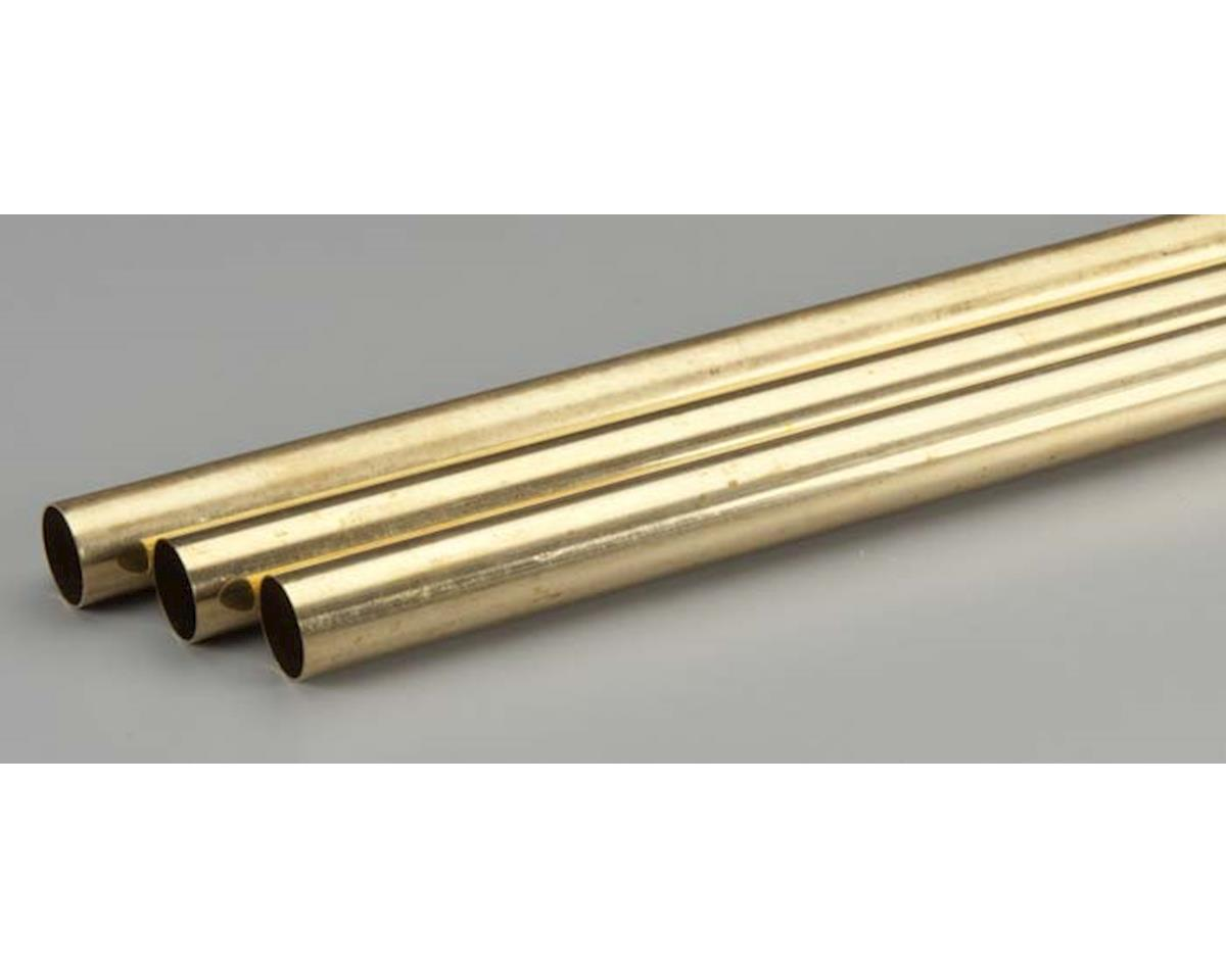 "K&S Engineering 9121 Rd. Brass Tube .014x19/32x36"" (3)"