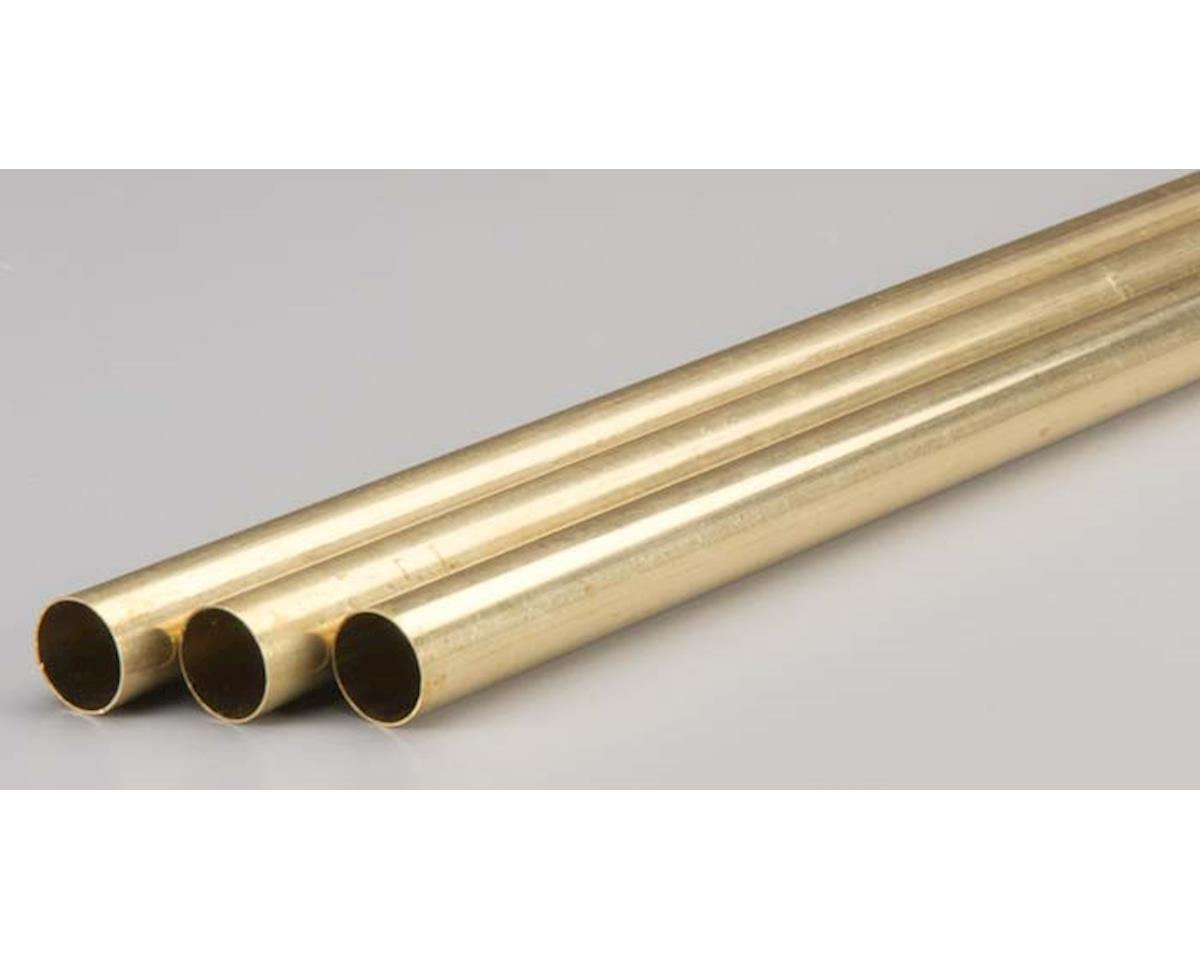 """9123 Rd. Brass Tube .014x5/8x36"""" (3) by K&S Engineering"""