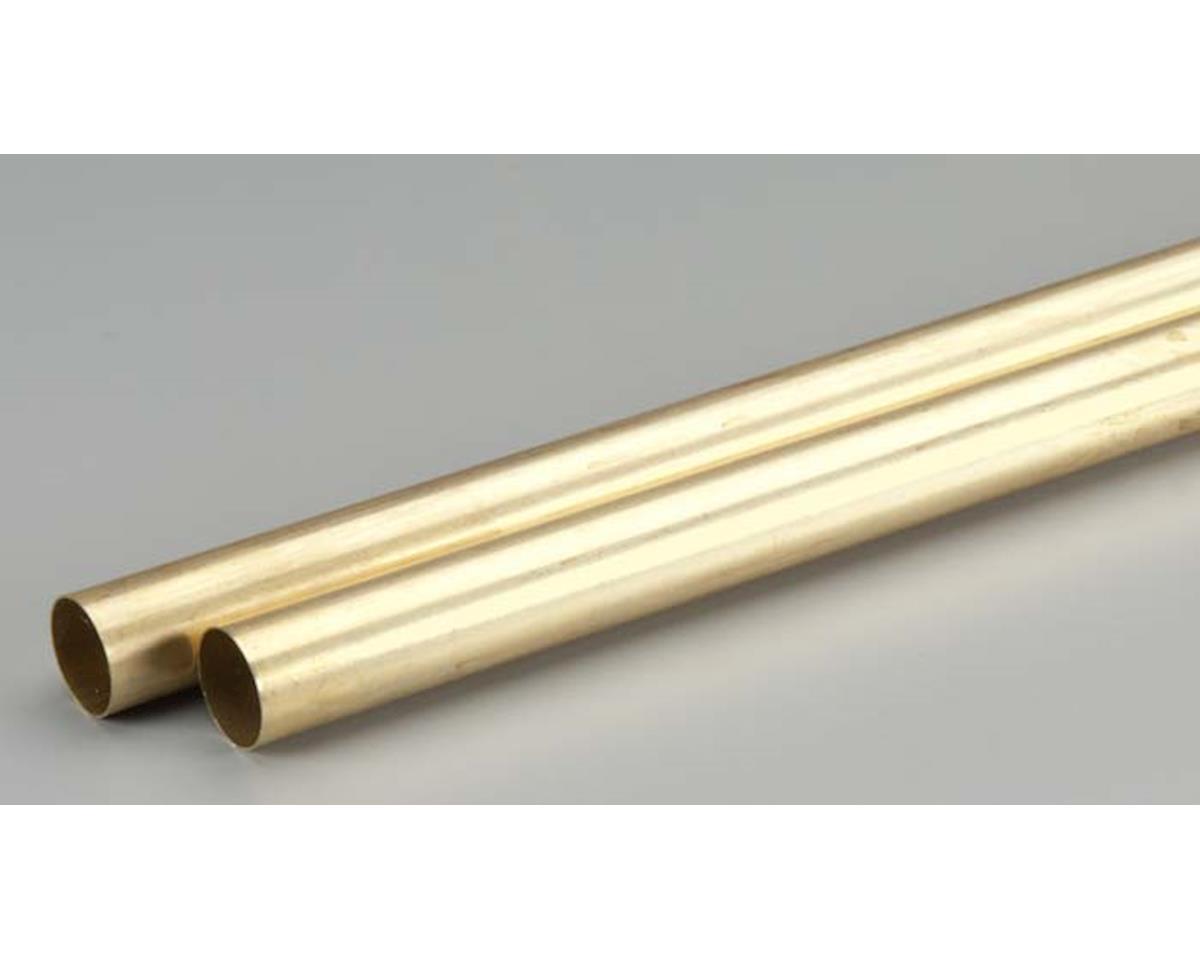 "K&S Engineering 9125 Rd. Brass Tube .014x21/32x36"" (2)"