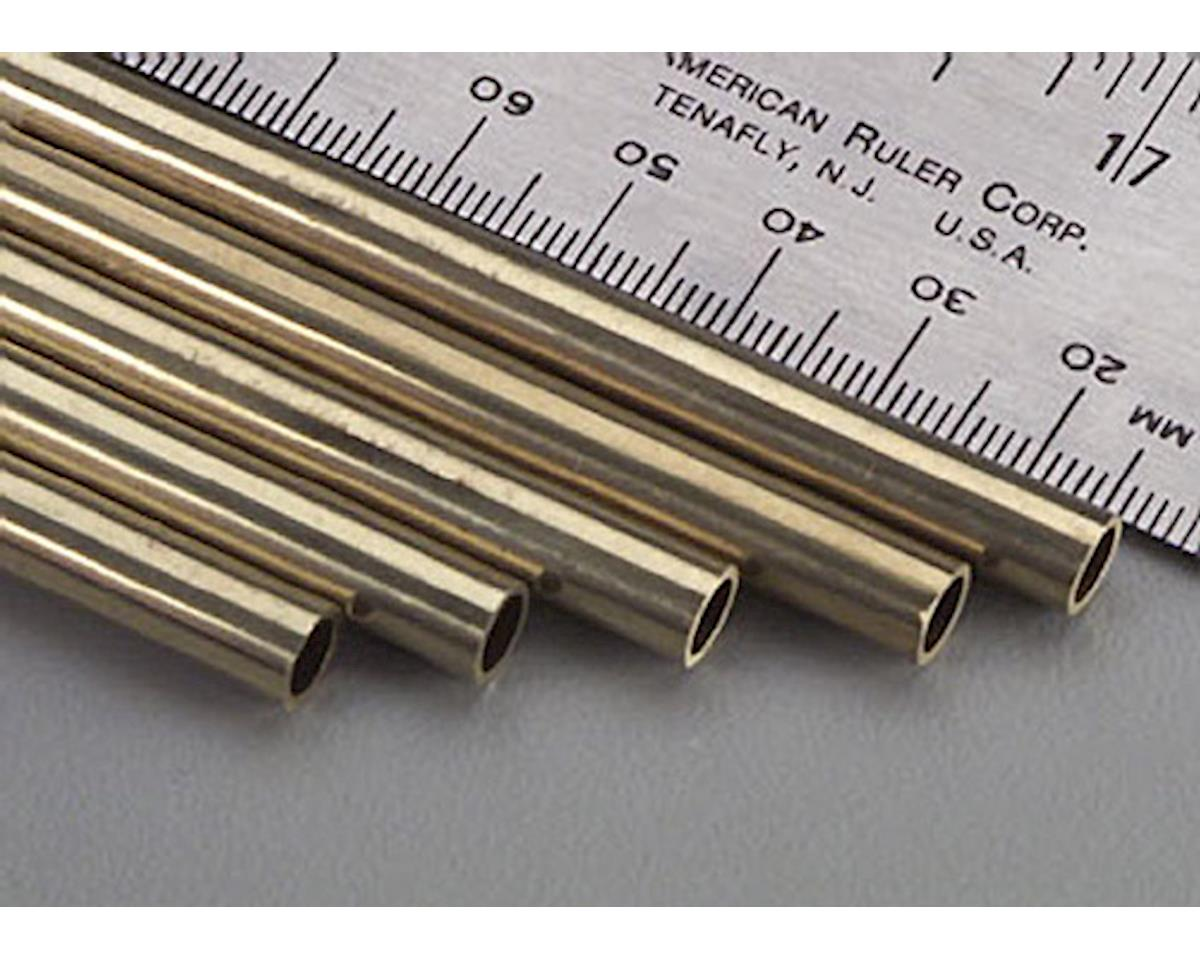 "9209 Round Brass Tube 1/4x36"" (5) by K&S Engineering"