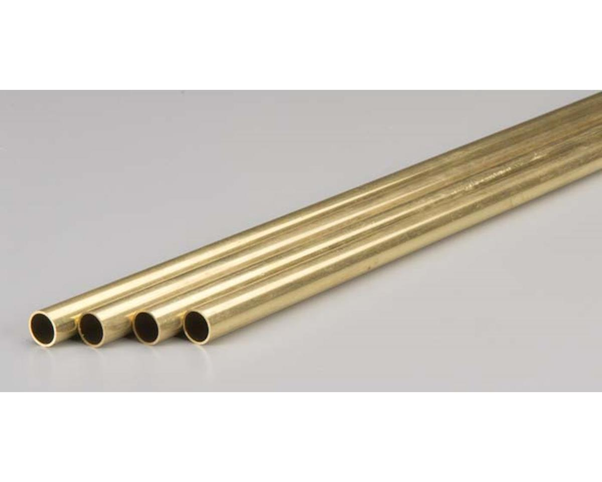 K&S Engineering Rd Brass Tube .029x7/16""