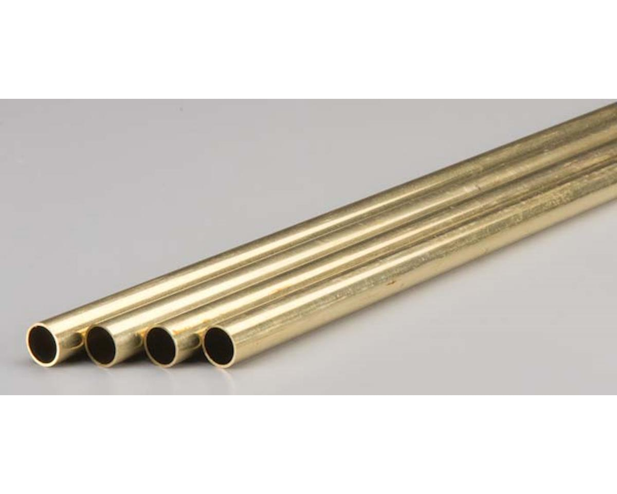 "K&S Engineering 9217 Rd. Brass Tube .029x1/2x36"" (4)"
