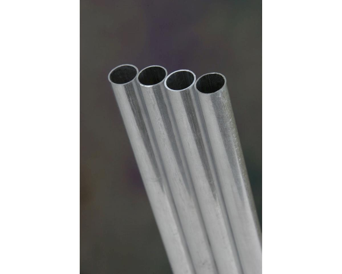 "K&S Engineering Round Aluminum Tube,36"",1/4 (6)"