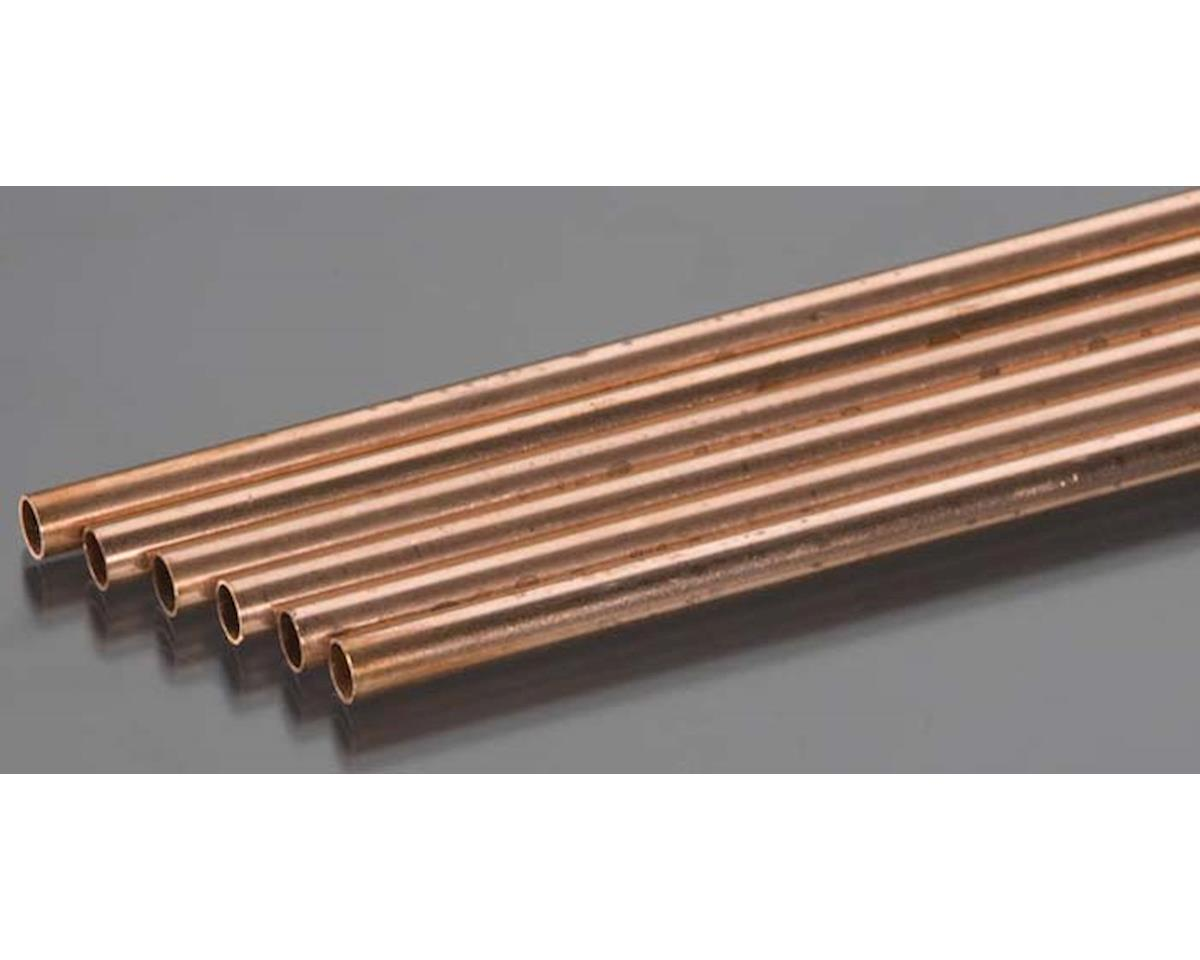 "K&S Engineering 9513 Round Copper Tube 7/32x36"" (6)"