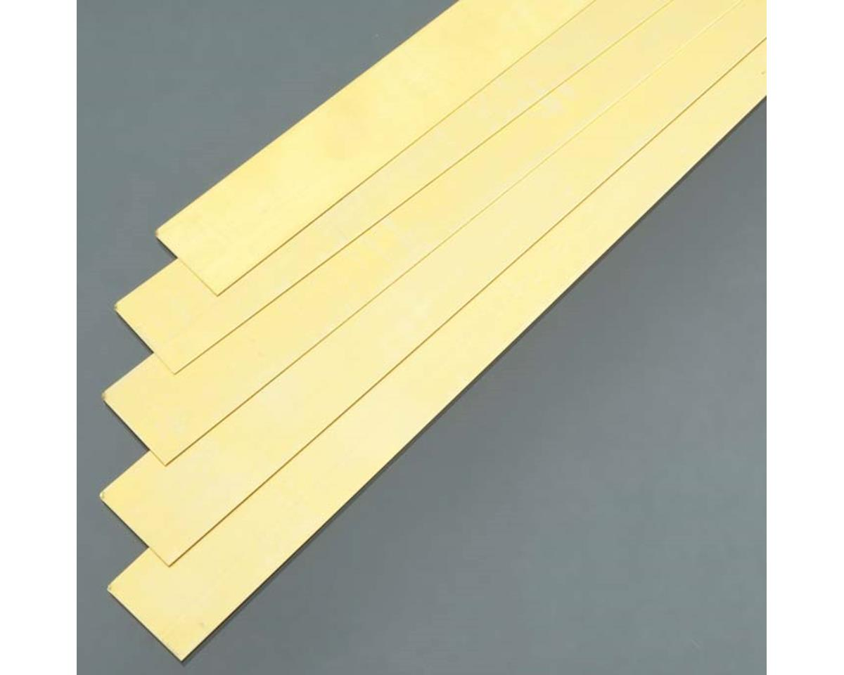 "K&S Engineering 9715 Brass Strip .016x1x36"" (5)"