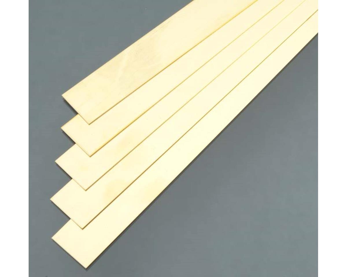 "K&S Engineering 9724 Brass Strip .032x1x36"" (5)"