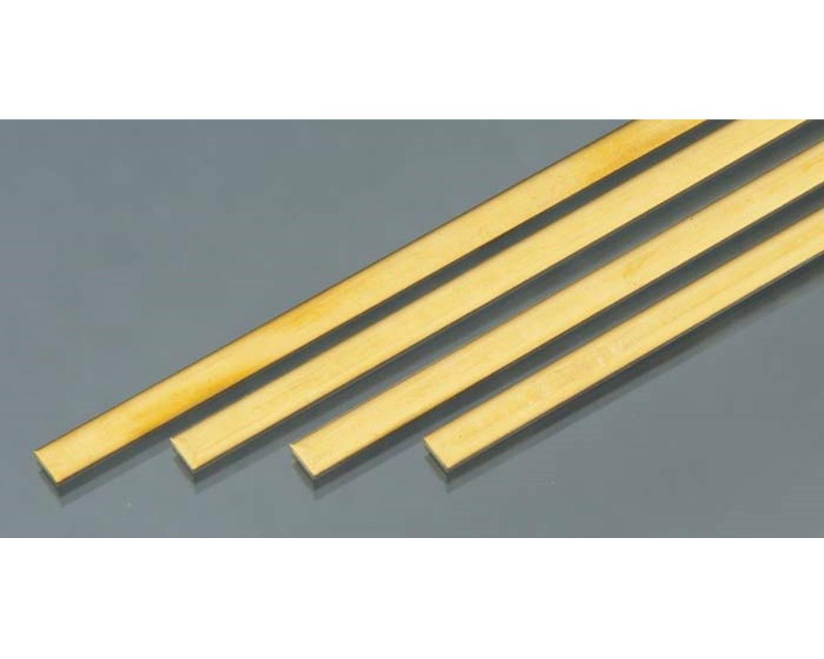 "Brass Strips,36"",.064 X 1/4 (4) by K&S Engineering"