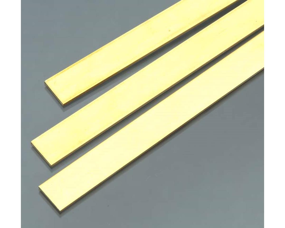 "Brass Strips 36"", .064 X 1/2 (1) by K&S Engineering"