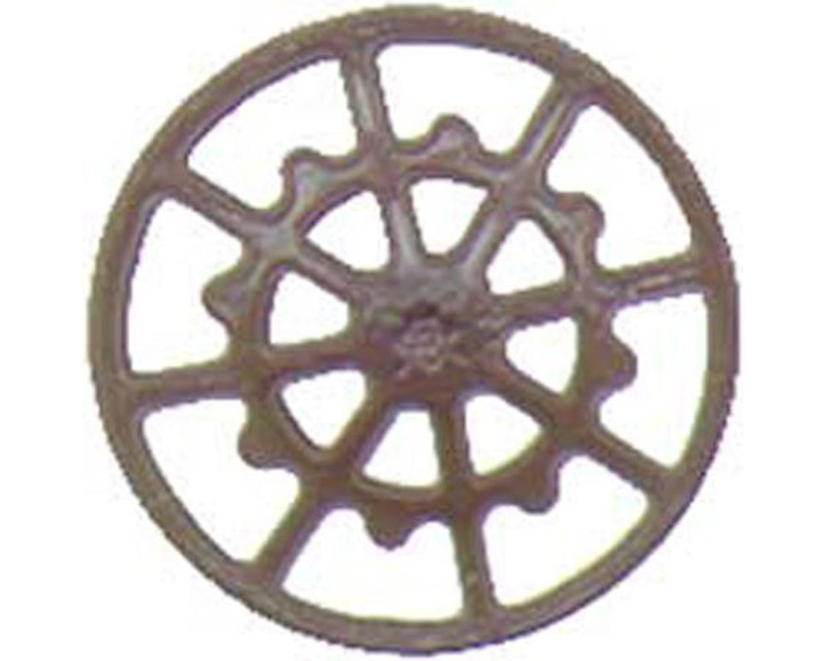 Kadee HO Brake Wheel, Ajax/Boxcar Red (8)