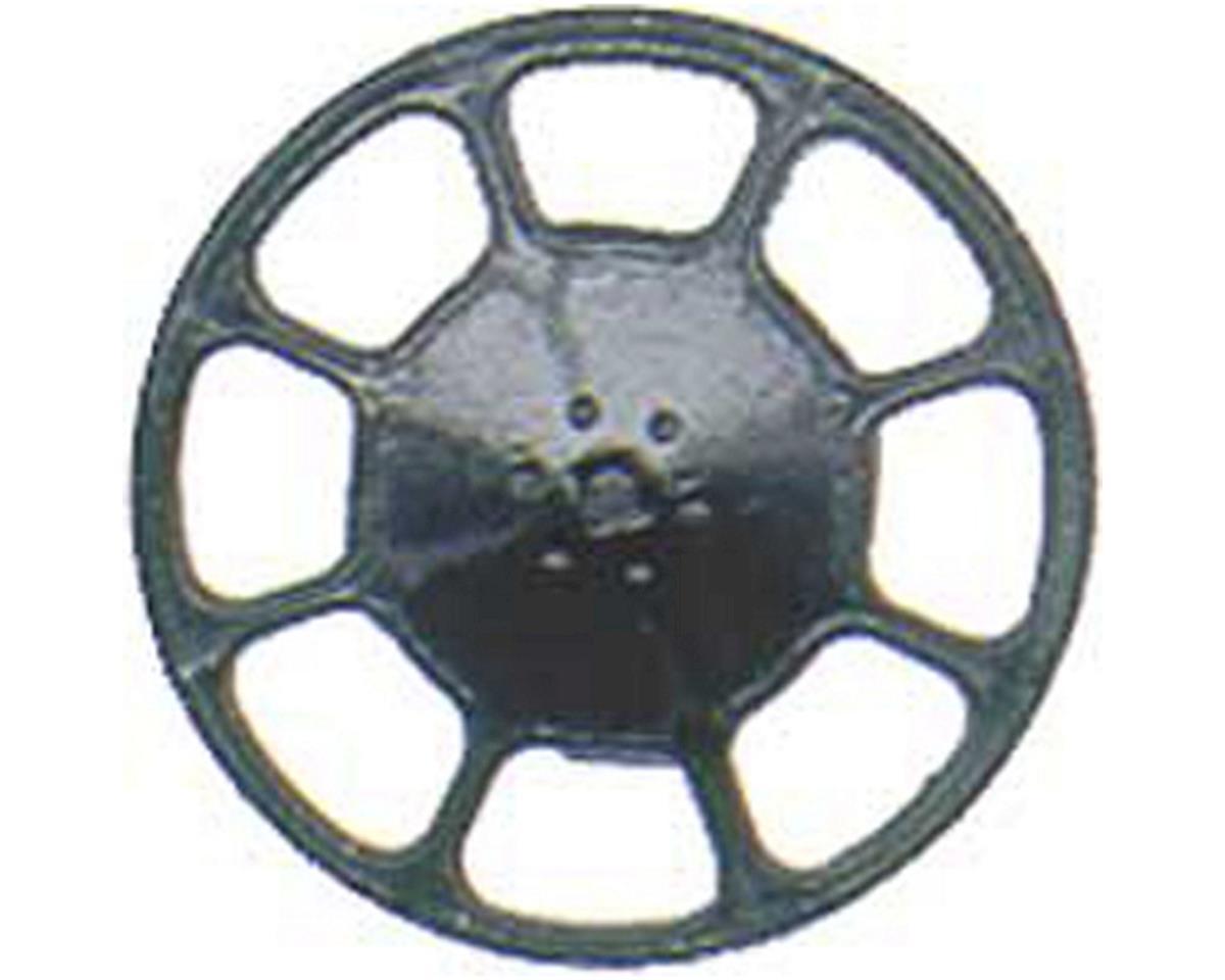 Kadee HO Brake Wheel, Modern/Black (8)