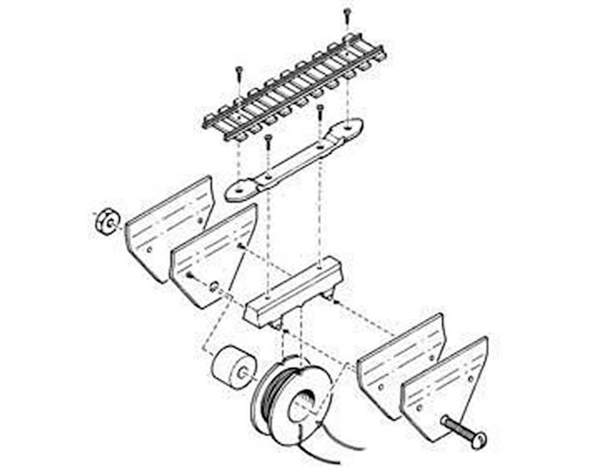 Kadee HO Under The Ties Electric Uncoupler Kit w/Delayed