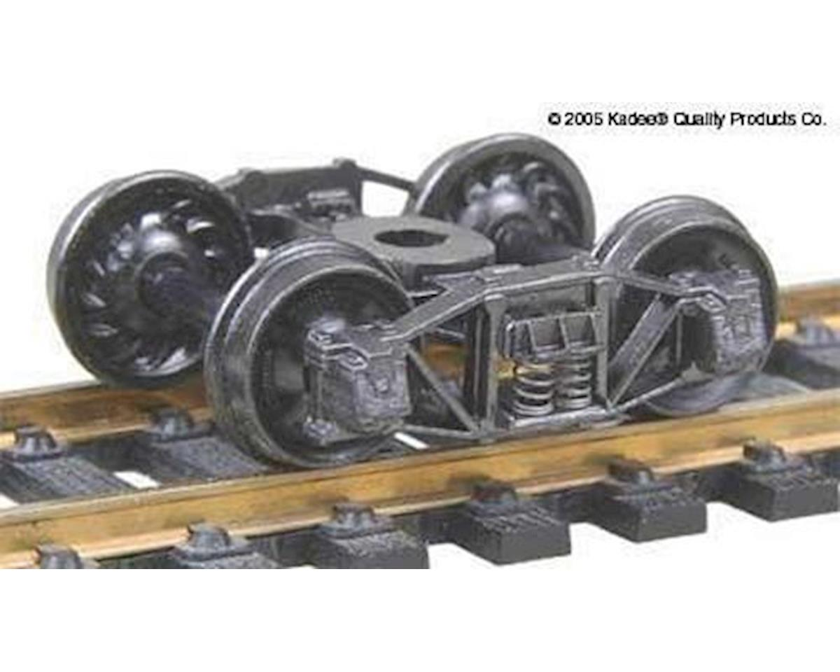 "Kadee HO Arch Bar Truck, 33"" Ribbed Wheels (1pr)"