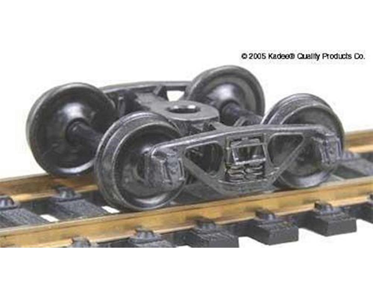 Kadee HO A3 Ride Control 50-Ton Freight Trucks (Metal Wh