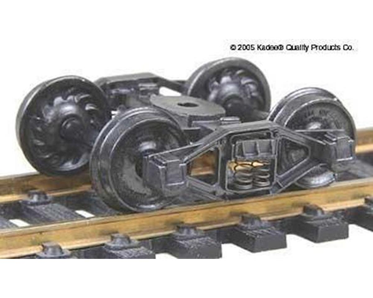 "Kadee HO Bettendorf ""T"" Truck, 33"" Ribbed Wheels (1pr)"