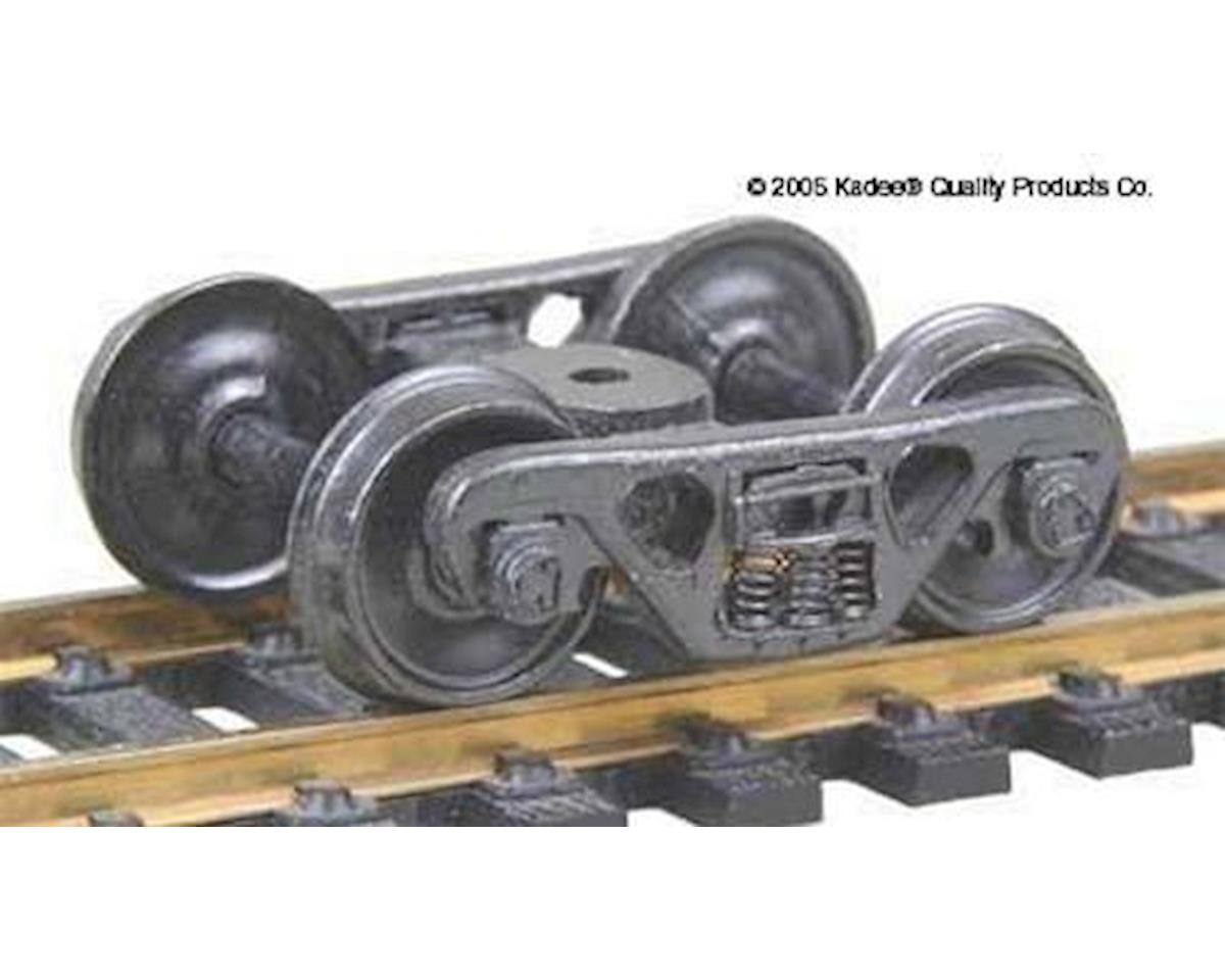 "Kadee HO ASF 100Ton Truck, 36"" Smooth Wheels (1pr)"