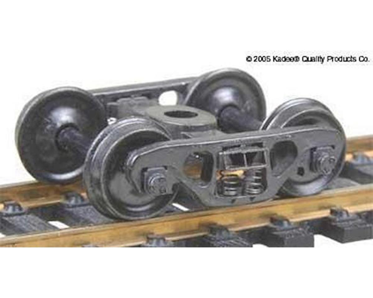Kadee HO Barber S2 70-Ton Roller Bearing Frt. Trucks Con