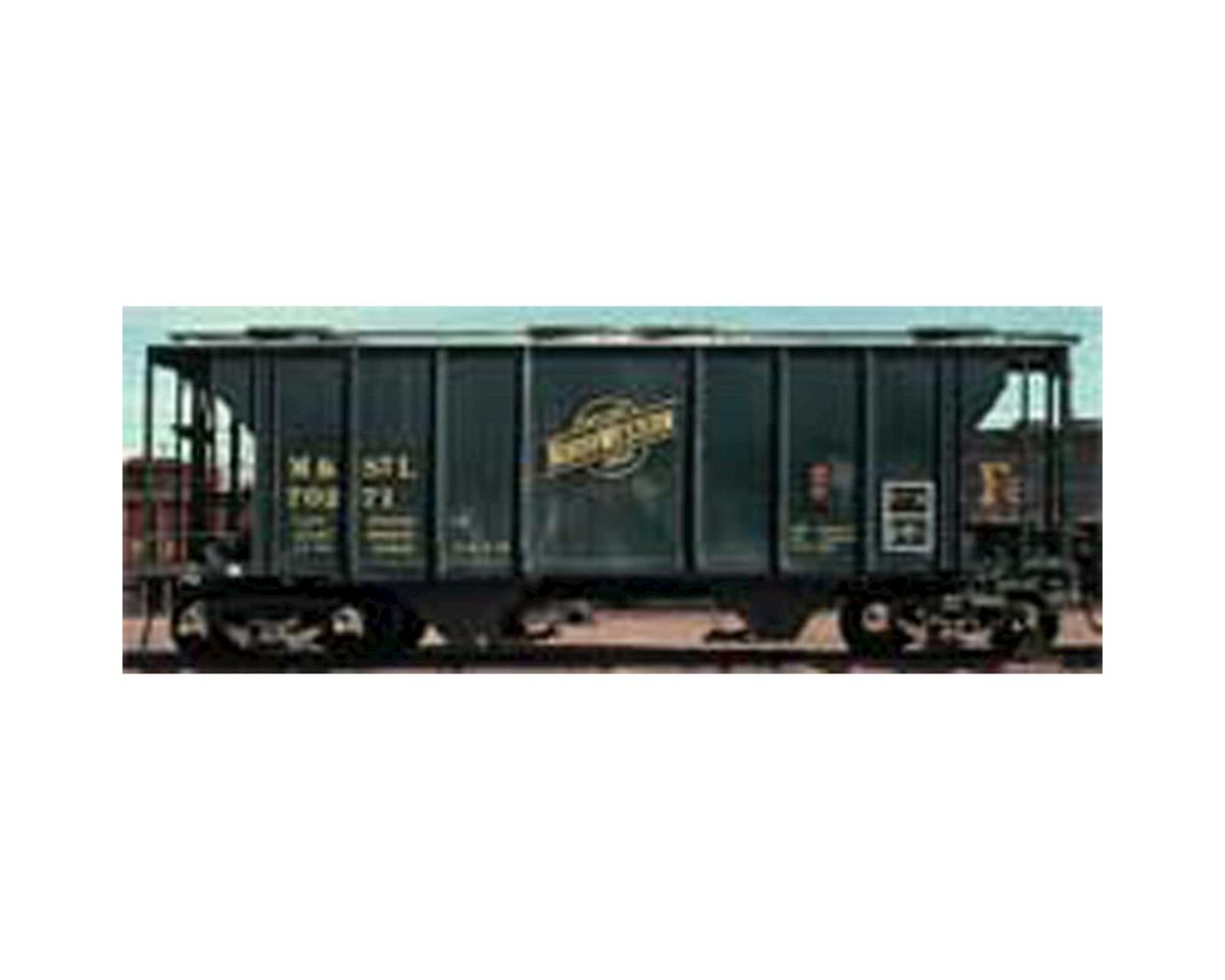 Kadee HO 2-Bay Covered Hopper, M&StL #70271