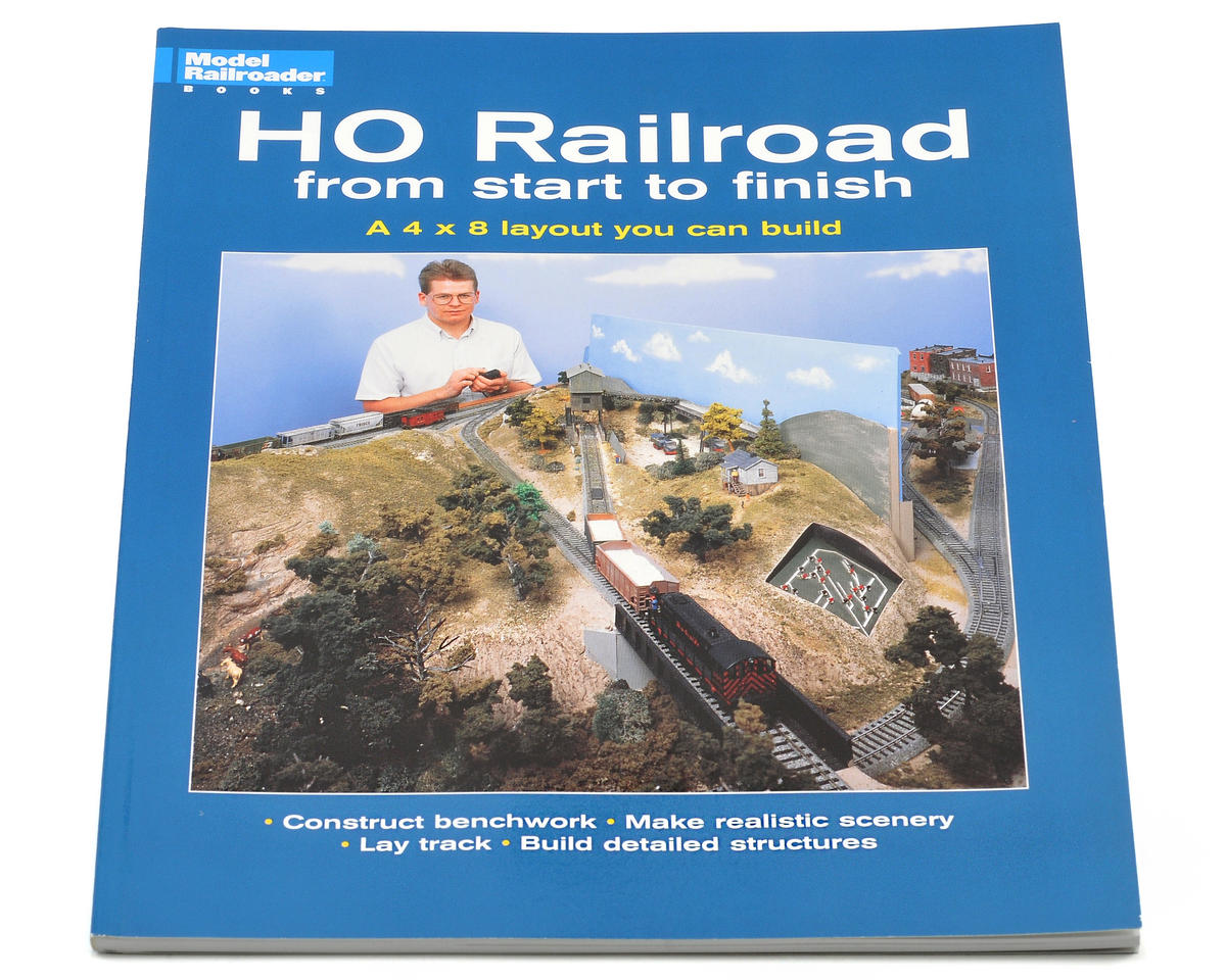 Kalmbach Publishing HO Railroad From Start To Finish