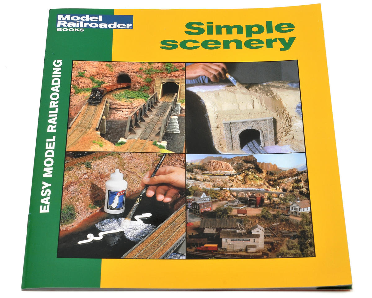 Kalmbach Publishing Easy Model Railroad: Simple Scenery