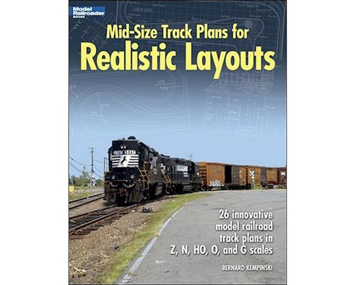 Kalmbach Publishing Mid-Size Track Plans for Realistic Layouts