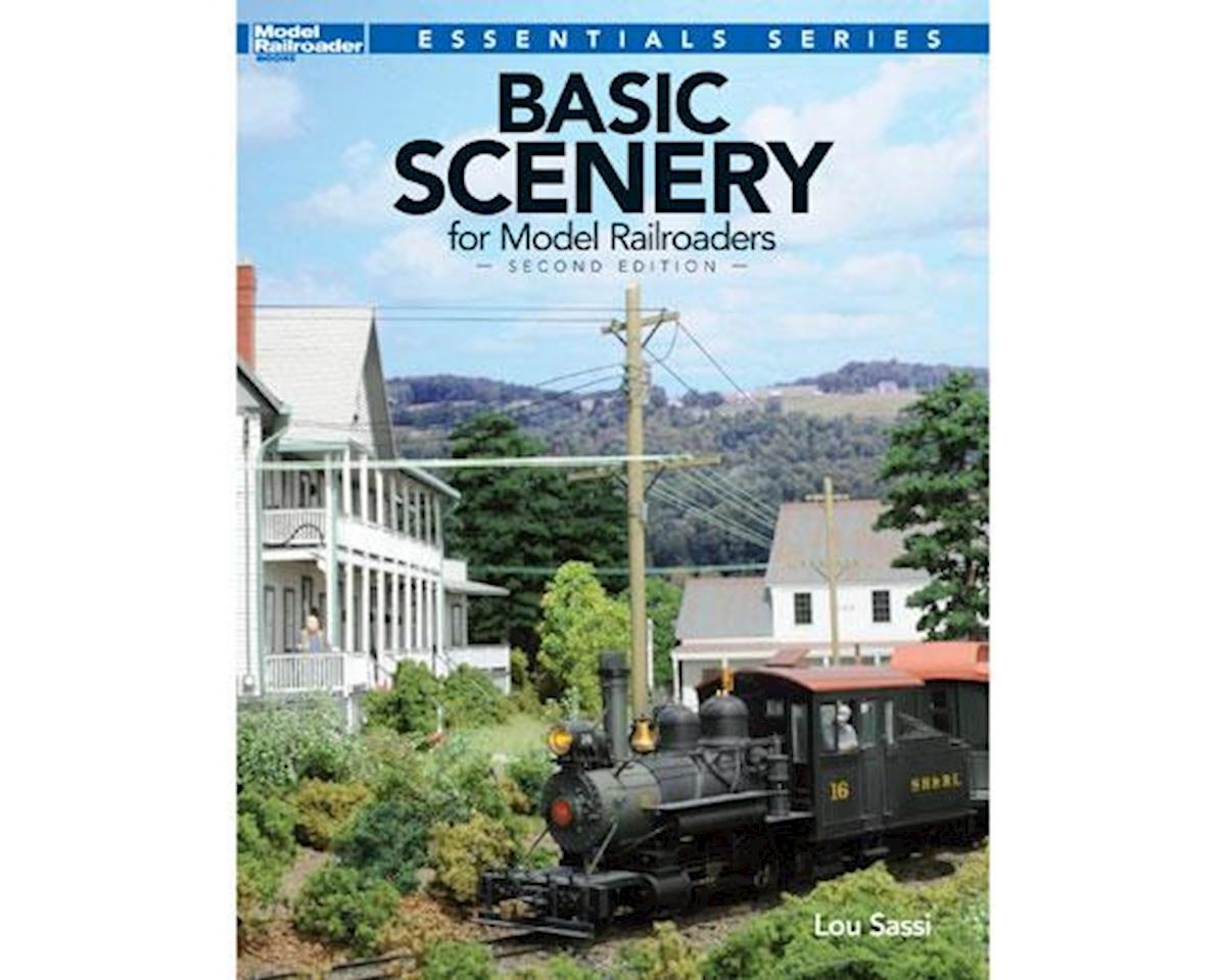 Kalmbach Publishing Basic Scenery for Model Railroaders, 2nd Edition