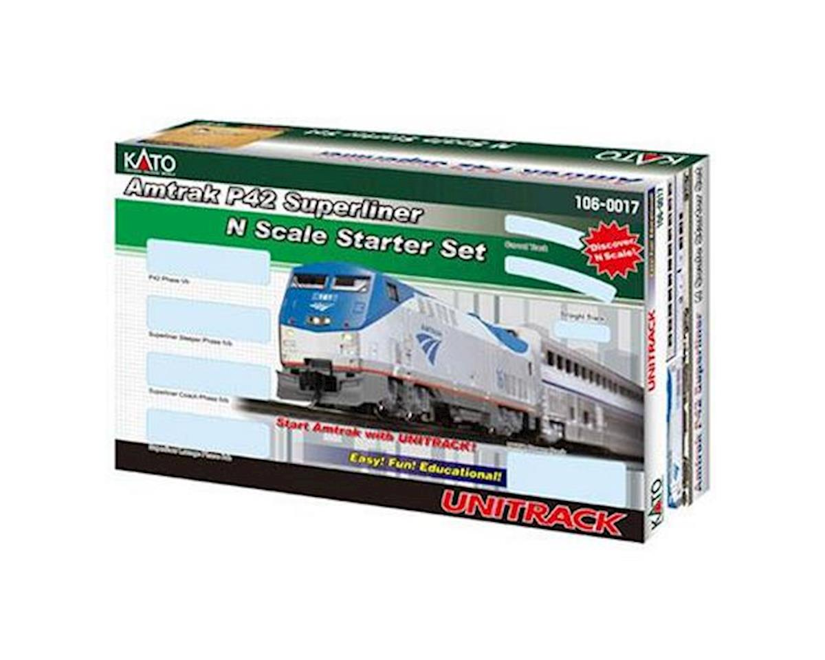 N P42 Superliner Starter Set, Amtrak/Phase V by Kato