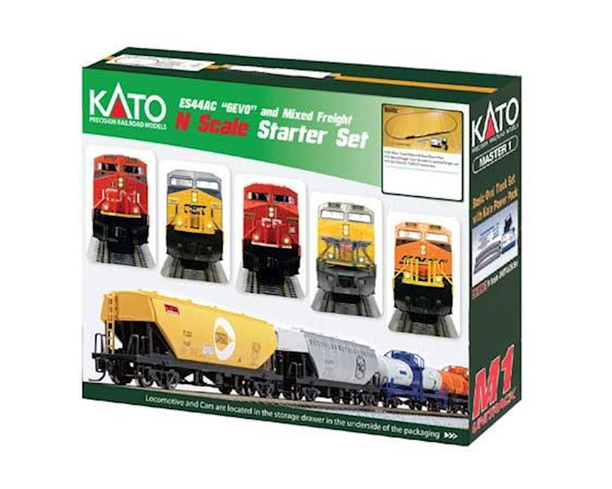Kato N ES44AC Freight Train Set, CPR