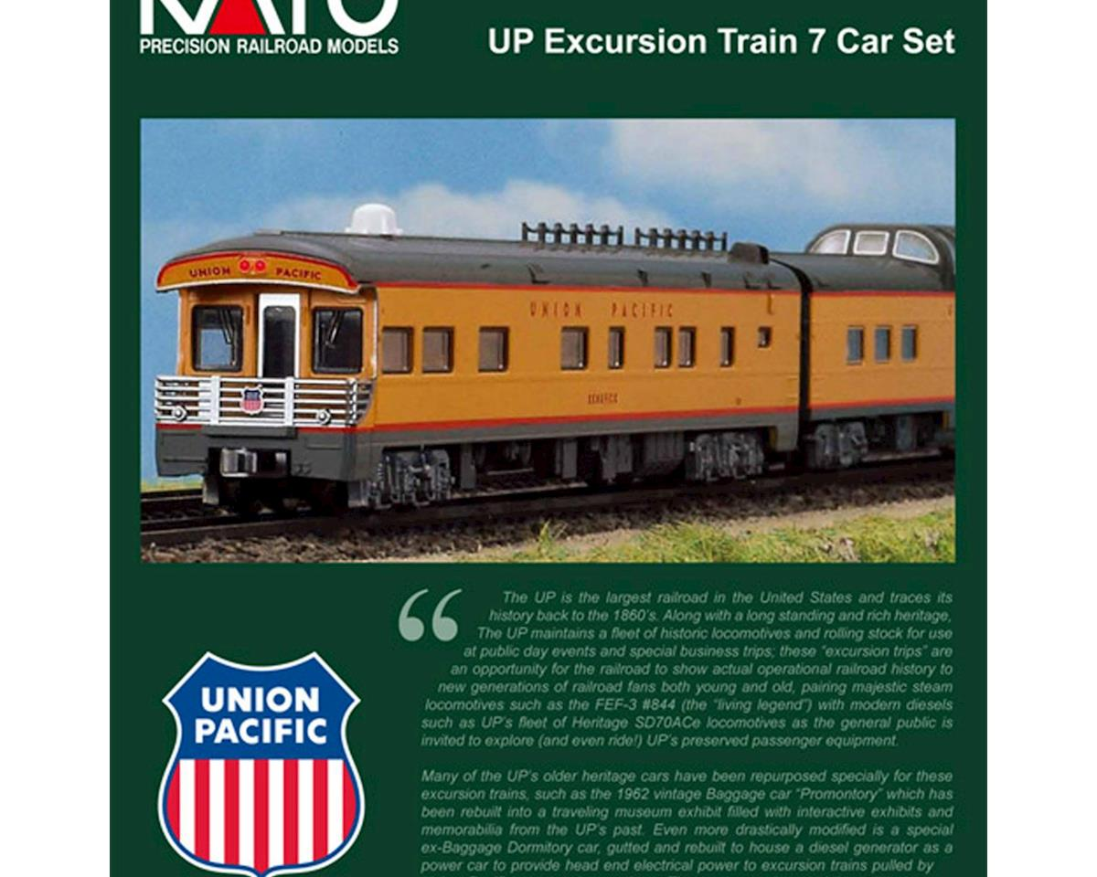 Kato N Passenger Set, UP/Excursion Train (7)