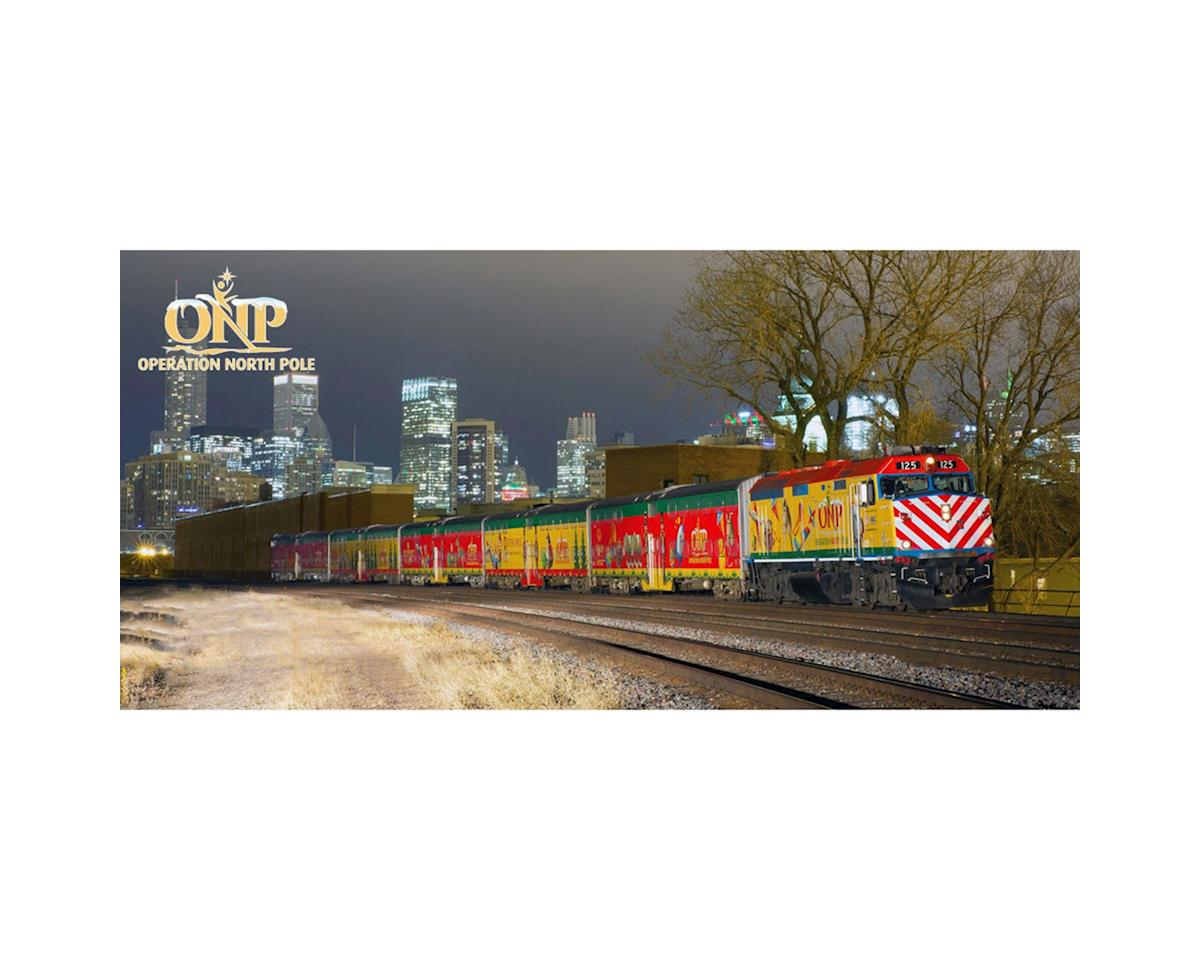 N Operation North Pole Christmas Train Set (4) by Kato Usa, Inc.