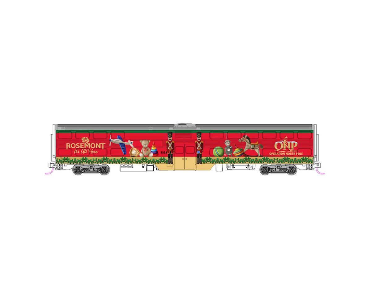 N Operation North Pole Christmas Train Set (4) by Kato