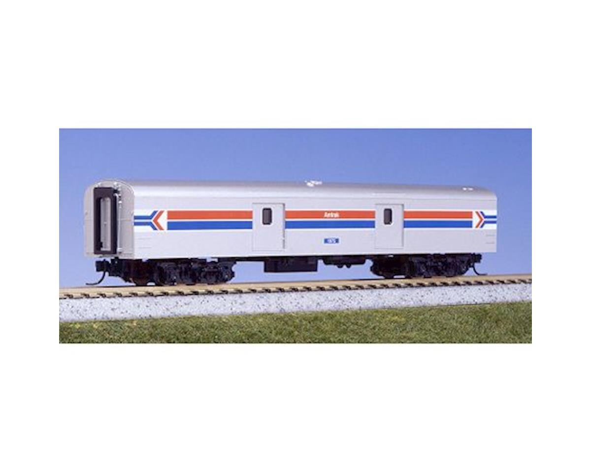 Kato N Smooth Baggage Car, Amtrak C (2)