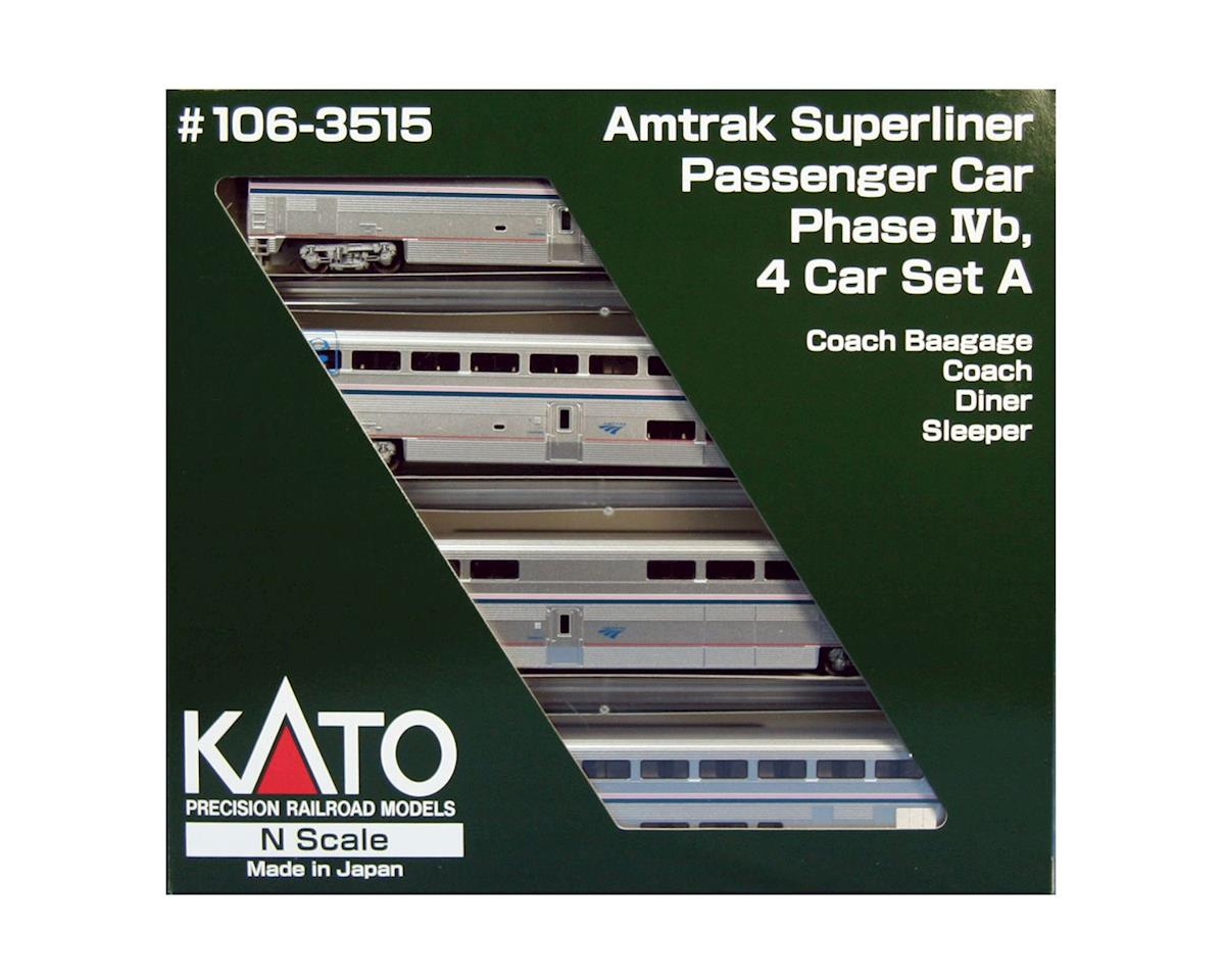 N Superliner Set, AMTK/PhlVb A (4) by Kato