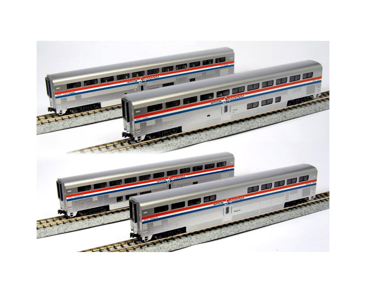 Kato `N AMTRAK 4 CAR SET A