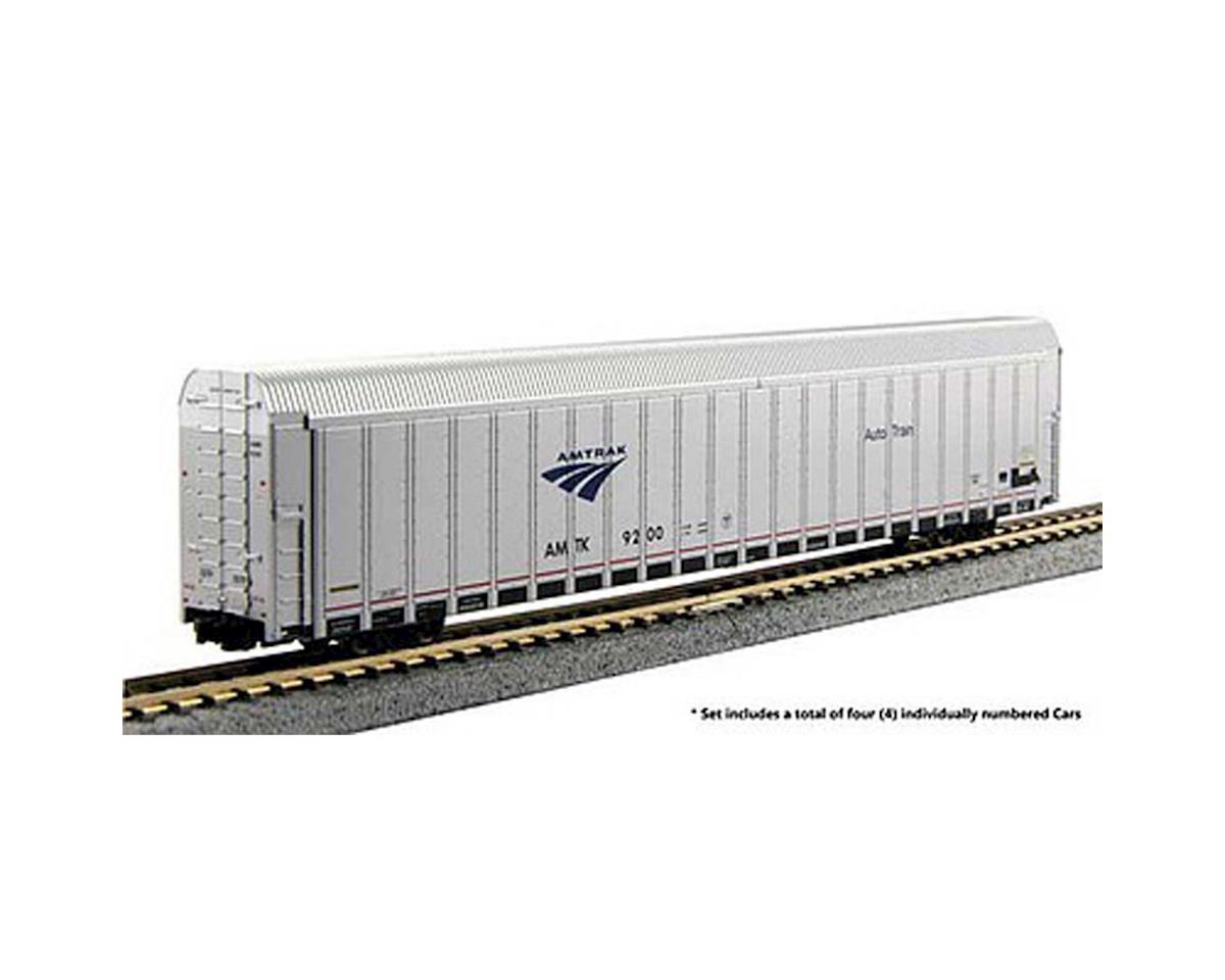 N Aluminum Autorack Amtrak Phase V #4 (4)